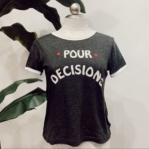 "WILDFOX ""Pour Decisions"" Graphic Tee"